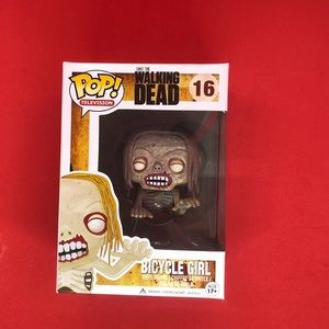 Funko Pop The Walking Dead Bicycle Girl #16Vaulted